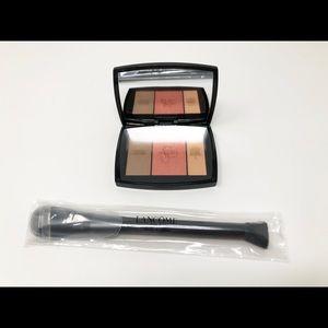 Other - Blush subtil palette and blush brush